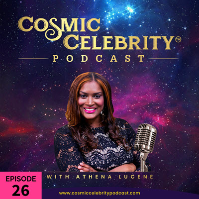 episode 26 ecover of the cosmic celebrity podcast